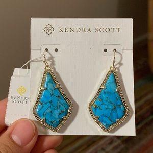 Kendra Scott Alex Turquoise Earrings